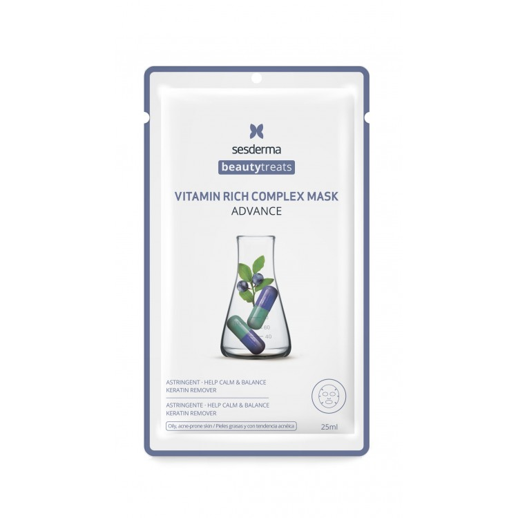 BEAUTYTREATS Vitamin rich complex mask – Маска для сияния кожи, 25 мл