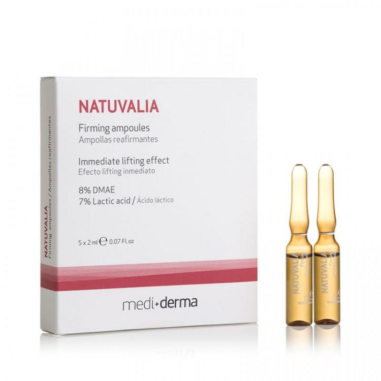 NATUVALIA - FIRMING - Ампулы с эффектом лифтинга, 5 шт. по 2 мл