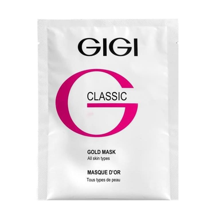 GIGI Skin Expert Gold Mask - Маска золотая, 1 шт