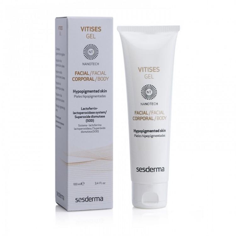 VITISES Gel – Гель-регулятор для депигментированных участков кожи, 100 мл