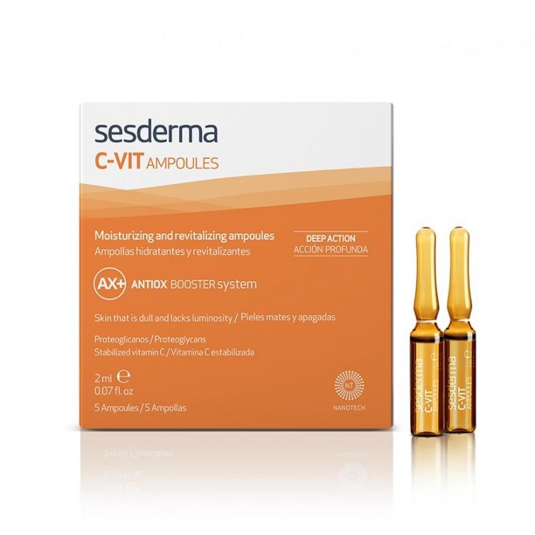 C-VIT Ampoules – Средство в ампулах с витамином С, 5 ампул по 2 мл.
