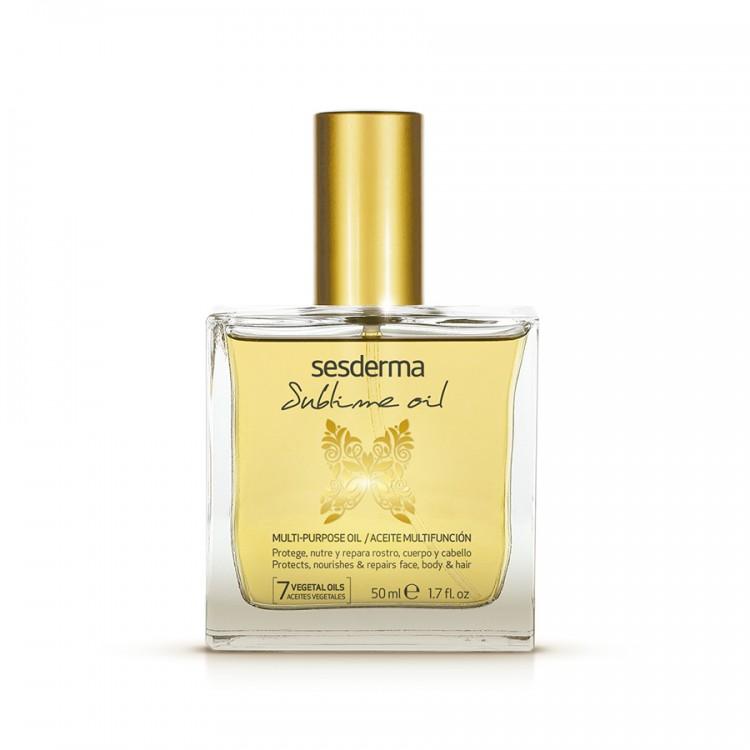 SUBLIME OIL Универсальное питательное и восстанавливающее масло для лица, тела и волос, 50 мл.