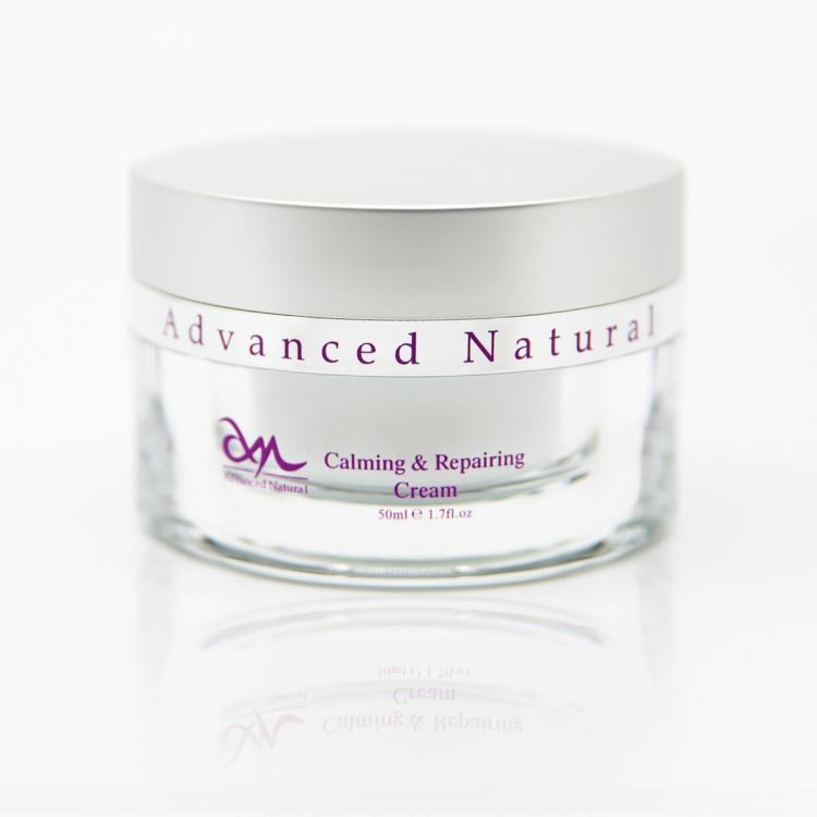 Advanced Natural Calming & Repairing Cream - Успокаивающий и Восстанавливающий Крем для лица, 50 мл