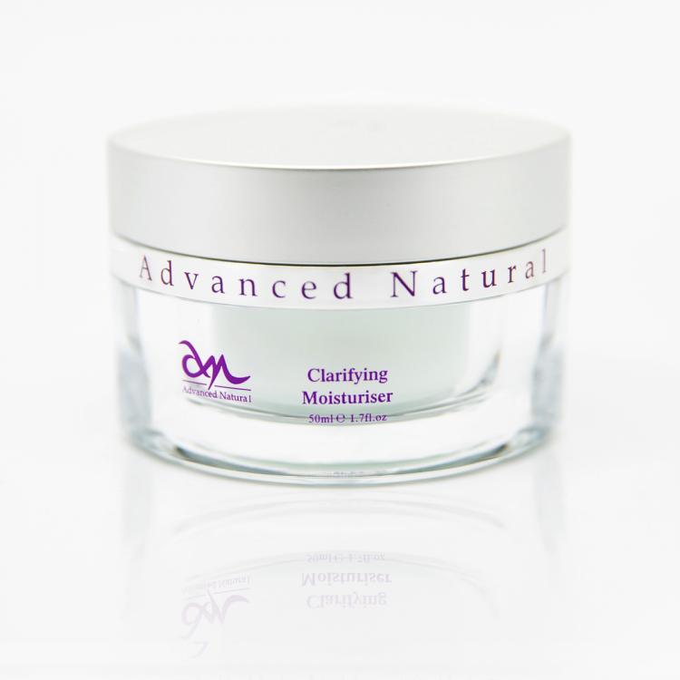 Advanced Natural Clarifying Moisturiser - Себорегулирующий увлажняющий крем для лица, 50 мл