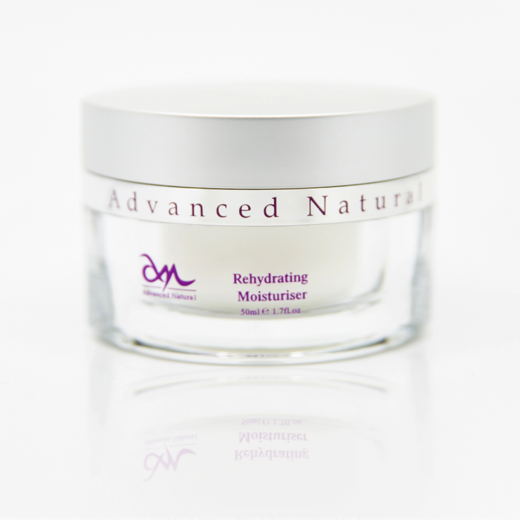 Advanced Natural Rehydrating Moisturiser - Регидрирующий увлажняющий крем для лица, 50 мл