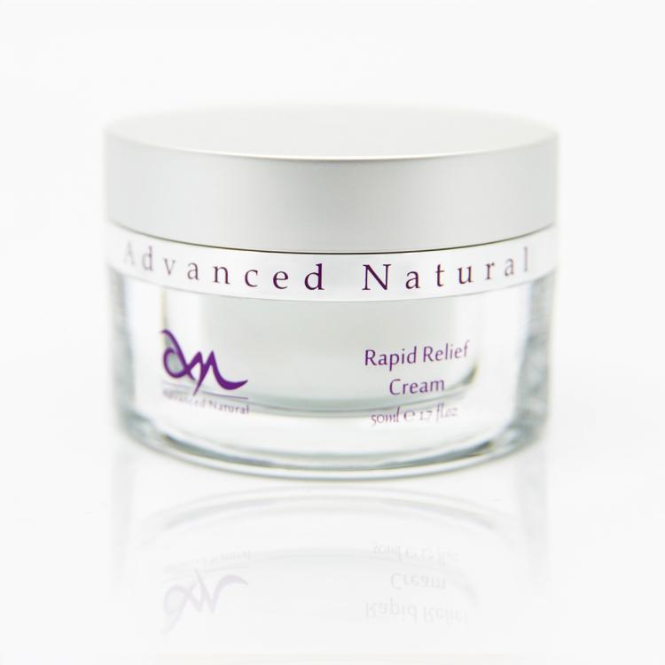 Advanced Natural Rapid Relief Cream - Крем быстрое восстановление для лица, 50 мл