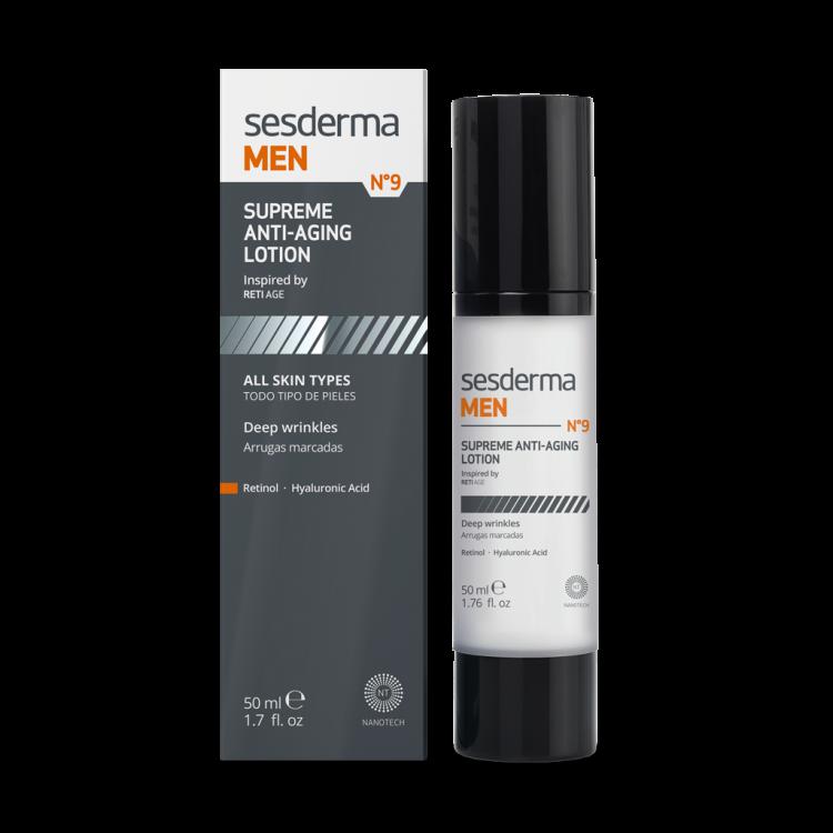 SESDERMA MEN Supreme anti-aging lotion – Лосьон антивозрастной для мужчин, 50 мл