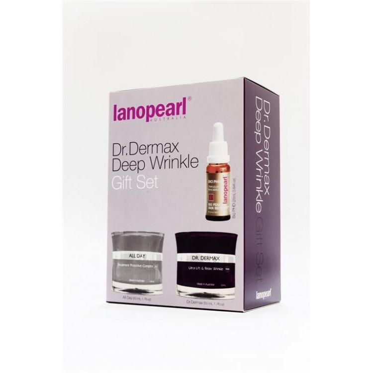 Lanopearl Dr.Dermax Deep Wrinkle - Набор от глубоких морщин 50мл+50мл+25мл