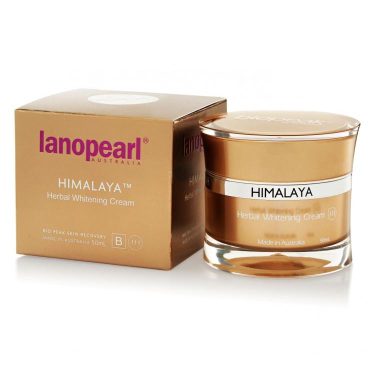 Lanopearl Himalaya Herbal Whitening Cream - Отбеливающий крем с растительными компонентами, 50 мл