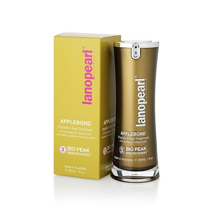 Lanopearl Applebond Peptide 5 Eye Treatment - Крем против морщин и мешков вокруг глаз, 30 мл