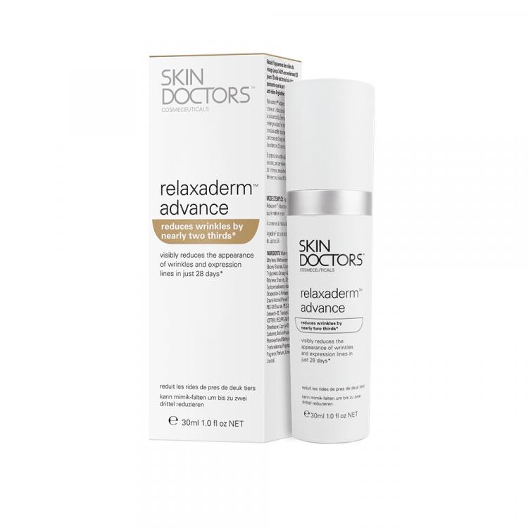 Relaxaderm™ Advance - Прогрессивный крем для лица против морщин и мимических линий, 30 мл